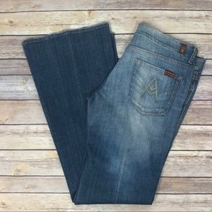 Seven For All Mankind A Pocket Jeans - Size 30